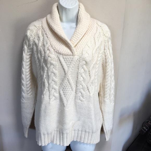 Inis Crafts Sweaters Ireland Merino Wool Sweater M Poshmark
